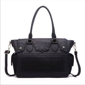 NWT Classic Satchel Bag in Black